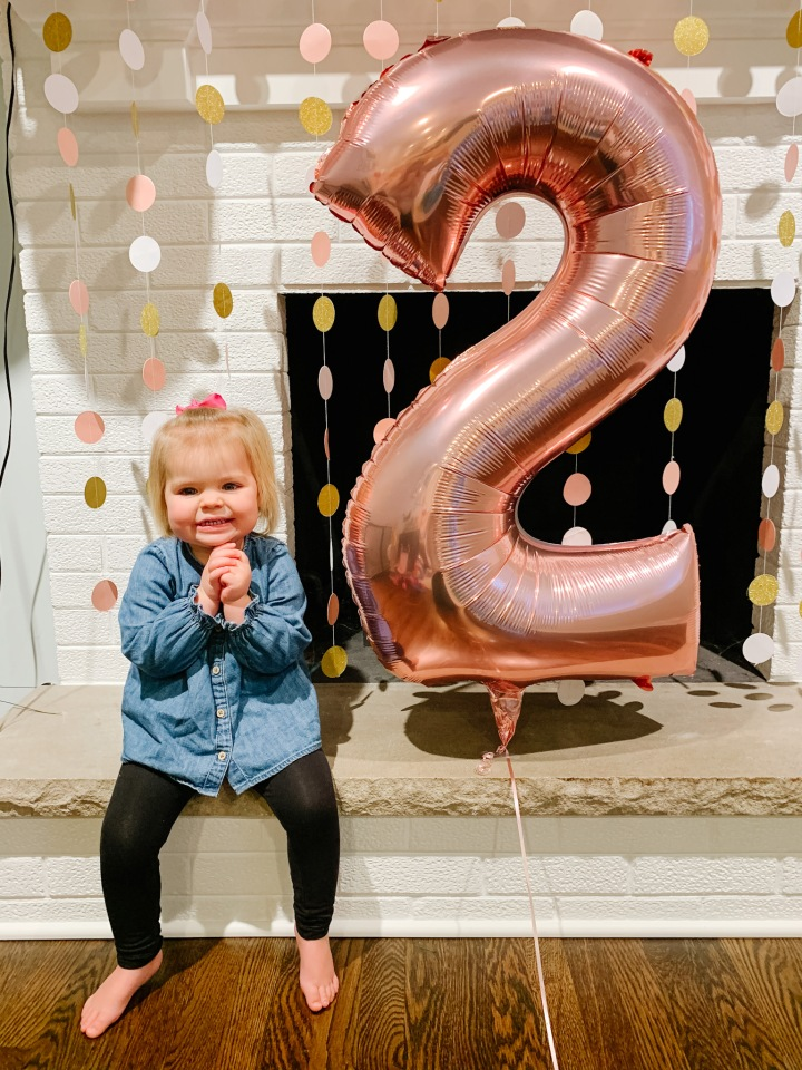 Kylie is Two