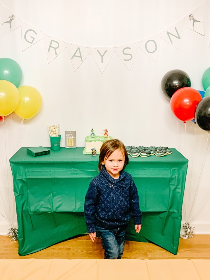 Grayson Is 4!